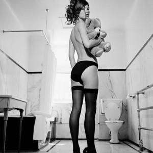Kate moss toilet that